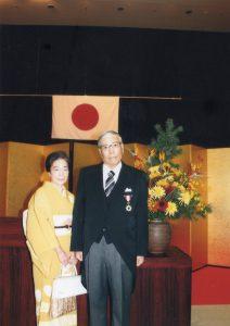 池田崇氏 旭日双光章受章祝賀会を開催しました
